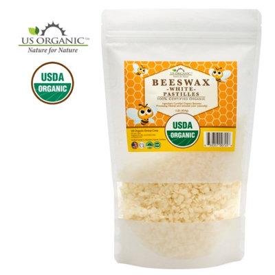 Us Organic 100% Pure Certified USDA Organic Beeswax White Pastille 16oz