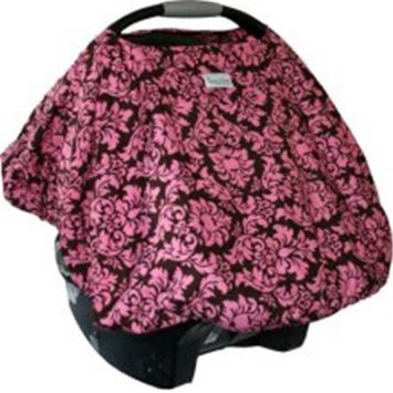 Sprout Shell Infant Carrier Cover in Dandy Damask