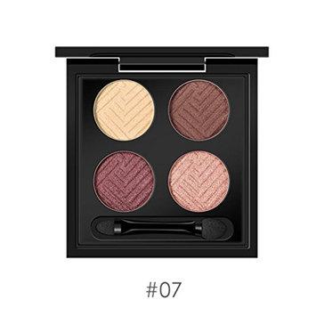 Binmer(TM) Women Lady 4 Colors Shimmer Eyeshadow Eye Shadow Palette & Makeup Cosmetic Eyeshadow Makeup