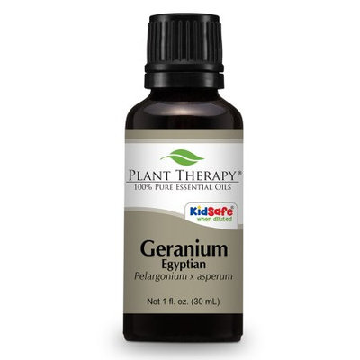 Plant Therapy Essential Oils Geranium Egyptian Essential Oil 30 ml (1 oz) 100% Pure, Undiluted, Therapeutic Grade