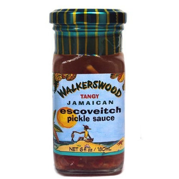 Walkerswood Tangy Jamaican Escoveitch Pickle Sauce 6 oz