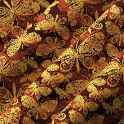 PCB Chocolate Transfer Sheet: Butterflies