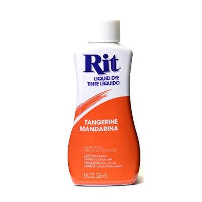Rit Dyes tangerine, liquid, 8 oz. bottle [pack of 6]