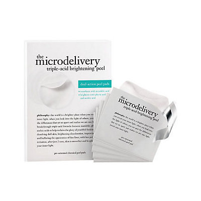 philosophy super-size microdelivery triple acid peel pads