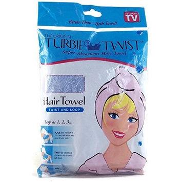The Original Turbie Twist Super Absorbent Hair Towel - Light Blue