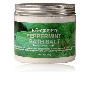 Modern Home Royal Massage 20oz Natural Sea Salt Mineral Bath Salts - Peppermint