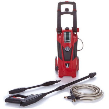 Earthwise Power Washer 1700 PSI Portable Pressure Washer-RED