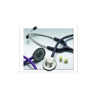ADC Adscope 615 Platinum Professional Clinician Stethoscope with Tunable AFD Technology, 30.5 inch Length, Indigo