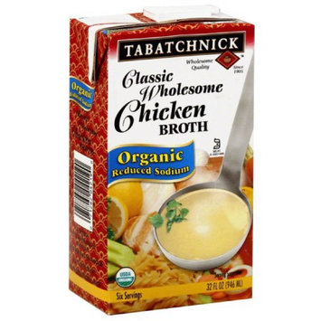 Tabatchnick Classic Wholesome Chicken Broth, 32 fl oz (Pack of 12)