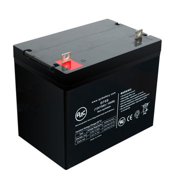 Pride 1170 XL Plus 12V 75Ah Wheelchair Battery - This is an AJC Brand® Replacement