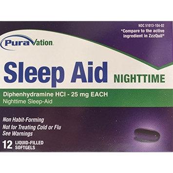 Sleep Aid Nighttime - 12 softgels