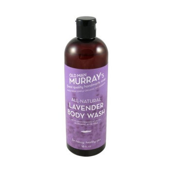 Lavender All-Natural Body Wash w/Lavender Essential Oil - Handmade w/Simple Organic Ingredients - No Parabens, Alcohol, Petroleum, Artificial Dyes or Fragrances