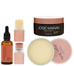 Josie Maran Argan Oil 5-Pc Luxury Body & Face Collection