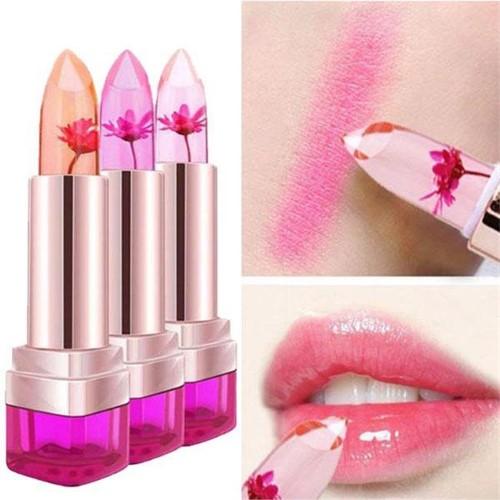 Tagco USA LS-JFL-PEA Jelly Flower Lip Balm Peach Peach