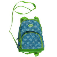 His Juveniles Nuby Quilted Backpack Harness, Turquoise Star