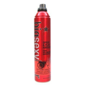 Big Sexy Spray & Play Hairspray Regular 10.6 oz. (3-Pack) with Free Nail File
