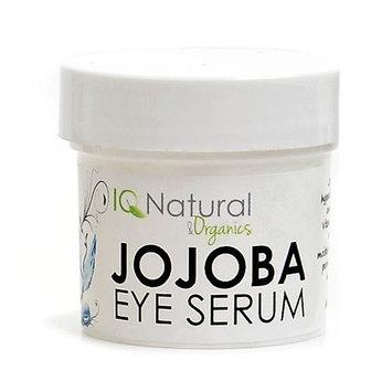 IQ Natural Jojoba Eye Balancing Serum, daily hydration, reduce appearance of stress. Organic 100% VEGAN 1oz