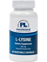 L-Lysine 500mg 90ct Caps by Progressive Labs