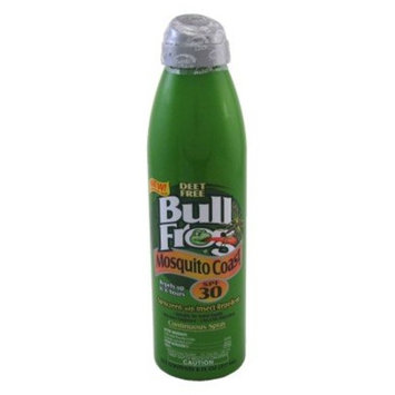 Bull Frog Mosquito Coast Spray Sunscreen with Insect Repellent 6 oz (Pack of 6)