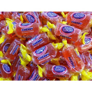 Jolly Rancher Cherry Flavored ONLY - 2 Pounds Bulk