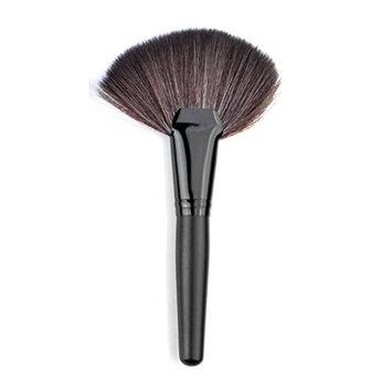 Leoy88 1pc Face Powder Foundation Brush M (Black)