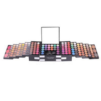 MISS ROSE Makeup Kit Gift Set – 142 Eyeshadow Colors, 3 Color Blush, 3 Color Eyebrow Powder, Mirror, All in One Makeup Kit by Bohonan