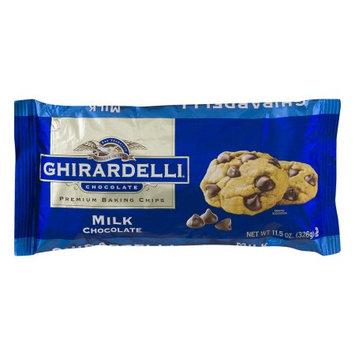Ghirardelli Premium Baking Chips, Milk Chocolate, 11.5 Oz