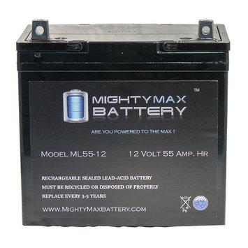 12V 55Ah SLA Battery for Locke-Devere 10, 12, 21, 22, 23 Mower