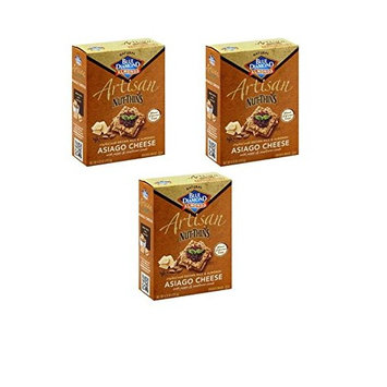 Blue Diamond Almond Nut Thins Multi Pack Gluten Free Crackers 14 Available Flavors (Artisan Asiago, 3 count)