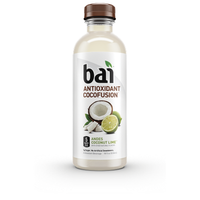 Bai Cocofusions Andes Coconut Lime, 18 Fl Oz (CASE of 12)