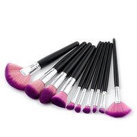 Becoler 5 Pieces Eyebrow Eyeliner Blush Cosmetic Concealer Brushes
