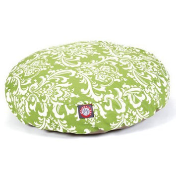 Majestic Home Goods Inc Majestic Home Goods French Quarter Round Pet Bed Ocean, Large
