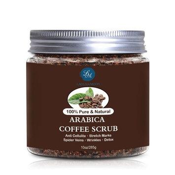 Arabica Coffee Scrub, Body Scrub and Facial Scrub for Deep Cleansing, Exfoliation, Pore Minimizer 10oz