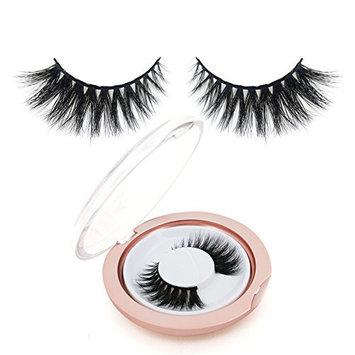 BEPHOLAN False Eyelashes 3D Mink Lashes Reusable Handmade Natural Lashes Fake Eyelashes Natural Look Easy to Apply(XMZ02)