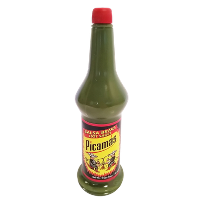 B & B ByB Picamas Green Hot sauce 7.05 oz - Salsa verde picante (Pack of 8)
