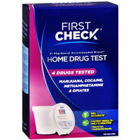 First Check Home 4 Drug Test , 1 test Personal Healthcare / Health Care