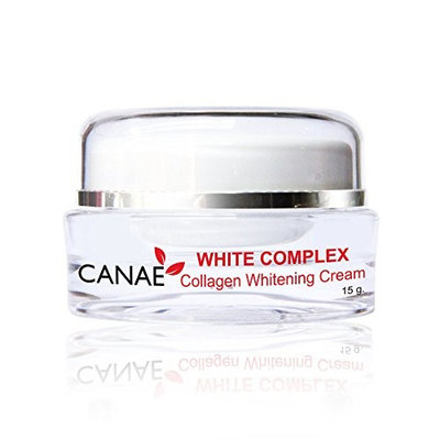 CANAE Natural Skin Whitening Lightening Dark Spot Removal and Anti Aging Wrinkle with Collagen Facial Cream, CANAE WHITE COMPLEX CREAM