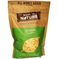 Back to Nature, Granola, 100% Natural Classic, 13.5 oz (pack of 12)