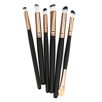 Make Up Brushes,Datework 6PCS Cosmetic Makeup Lip Brush Eyeshadow Brushes