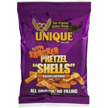 Unique Flavor Shocked Bacon Cheddar Pretzel Shells, 2 oz