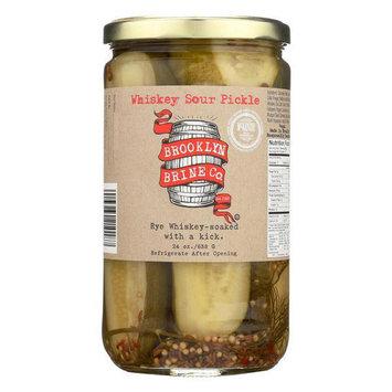 Brooklyn Brine Wishkey Sour Pickle 24 oz Jars - Pack of 1