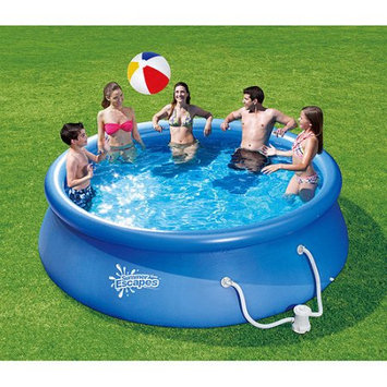 Summer Escapes 12-ft x 12-ft Above-Ground Pool LW-P21-1230-A