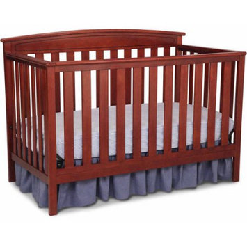 Delta Children's Products Gateway 4-in-1 Fixed-Side Crib, Cabernet