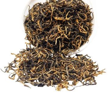Chinese Tea Culture Golden Monkey Black Tea - Yu Nan Tea - Chinese Tea - Caffeinated - Black Tea - Tea - Loose Tea - Loose Leaf Tea - 3oz