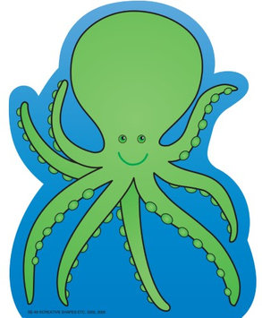 Creative Shapes Etc. Large Notepad - Octopus