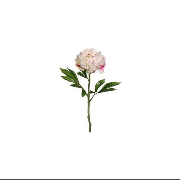 Club Pack of 12 Artificial Pinkish White Peony Floral Sprays 22