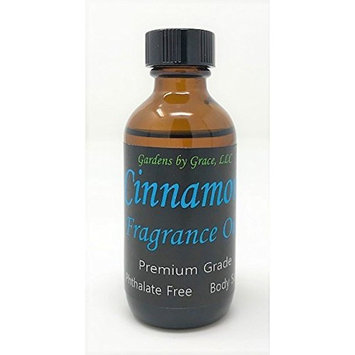Cinnamon Fragrance Oil   Phthalate Free, Body-Safe   For Soap, Candle Making, Bath Bombs, Diffuser   Aromatherapy, Scent Warmer, Potpourri   2 oz