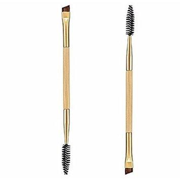 SMTSMT Bamboo Handle Double Eyebrow Brush + Eyebrow
