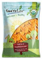 Food To Live ® Organic Mango Strips (Dried, Non-GMO, Unsulphured, Unsweetened, Bulk) (6 Pounds)