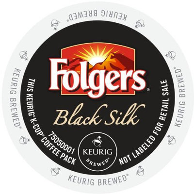 Green Mountain Folgers Gourmet Selections Black Silk Coffee, K-Cup Portion Pack for Keurig Brewers (96 Count)